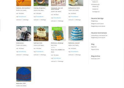 Solopreneur-Shop Shop-Seite