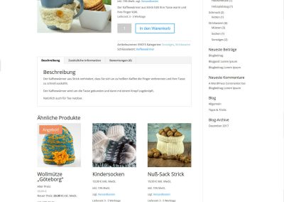 Solopreneur-Shop Produktseite 1