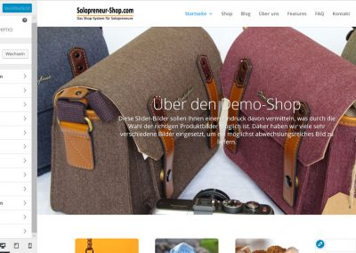 Solopreneur-Shop Admin